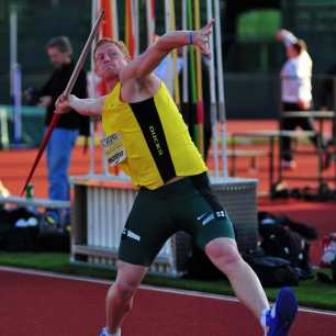 Cyrus Hostetler 2009 Oregon Relays