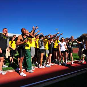 Oregon Men & Women PAC-10 Champions