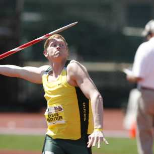 Cyrus Hostetler 2009 UCLA Dual Meet Javelin