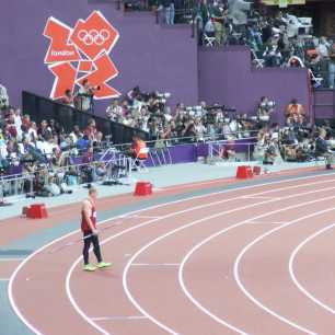 2012 Olympic Games - Cyrus Hostetler Javelin runway