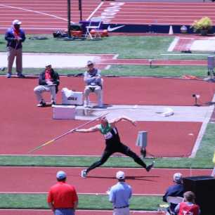 2012 Olympic Trials - Cyrus Hostetler Javelin