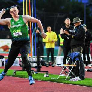Cyrus Hostetler Oregon Twilight TrackTown Photo