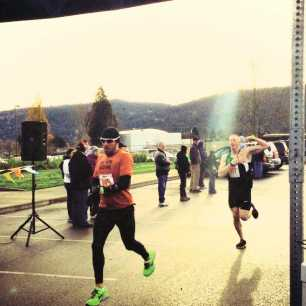 Cyrus Hostetler 2012 Turkey Stuffer 5k 20:10 finish