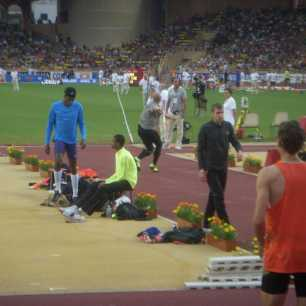 Cyrus Hostetler - Monaco Diamond League Javelin