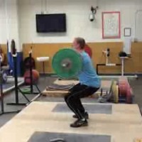 2013 – Clean – 130k for 3 reps